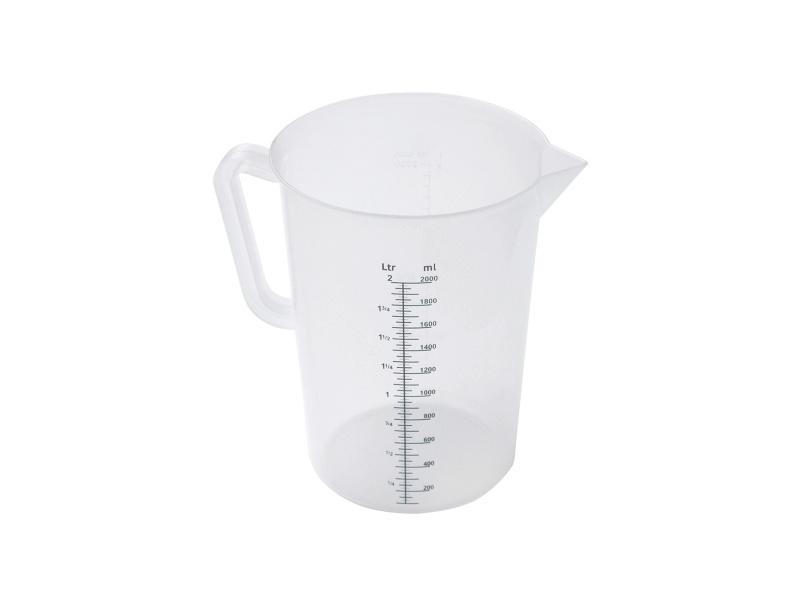 Jarra medidora plástica 2 litros Sunnex