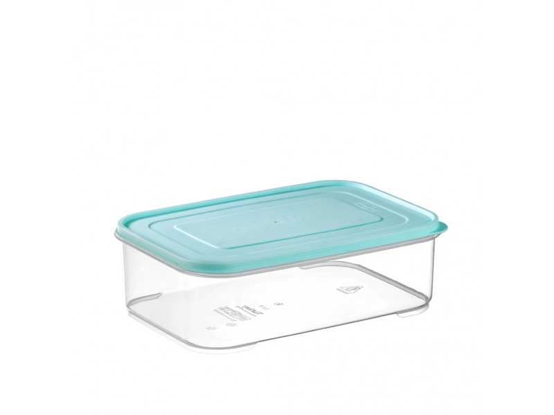 Tupper recipiente hermetico transparente 3.3 ltrs tapa color