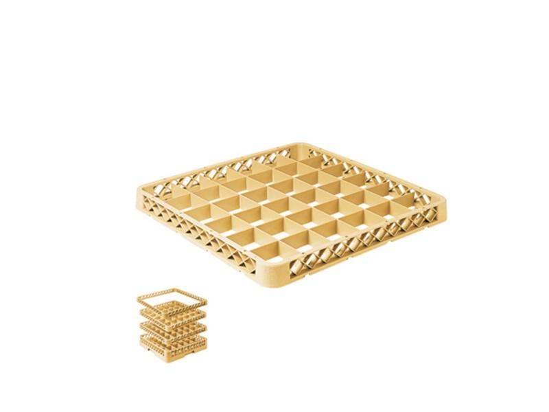 Extensión 4 cm para rack 36 div beige