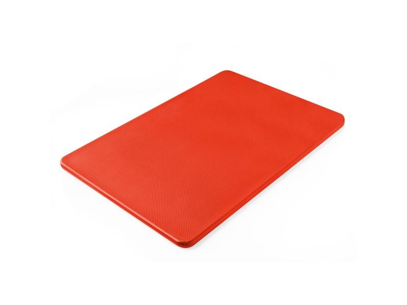 Tabla plástica 46 x 31 x1.2 cm roja Sunnex