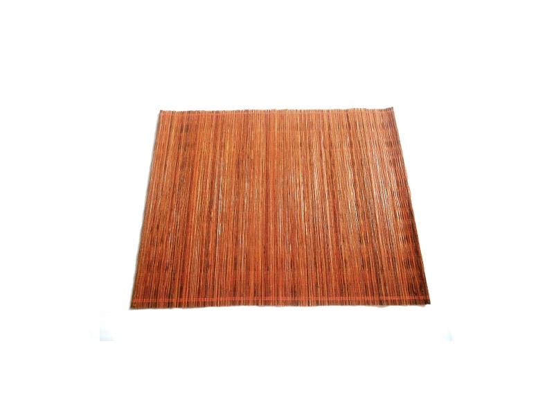 Mantel individual naranja fibras naturales 35 x 45 cm