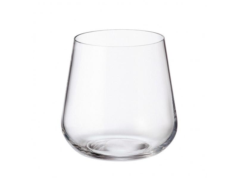 Vaso cristal Ardea Bohemia 320 ml set x 6 unid.