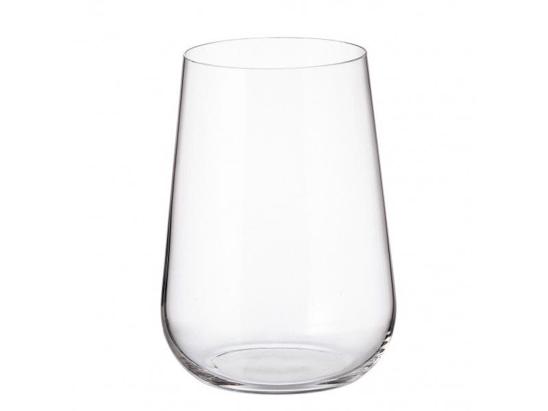 Vaso cristal Ardea Bohemia 470 ml set x 6 unid.