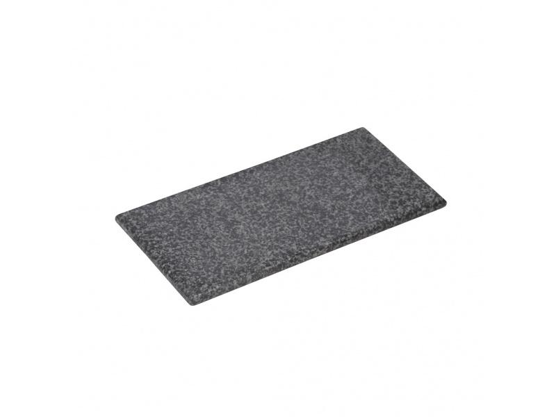 Tabla granito rectangular 31 x 17 x 1.5 cm negro