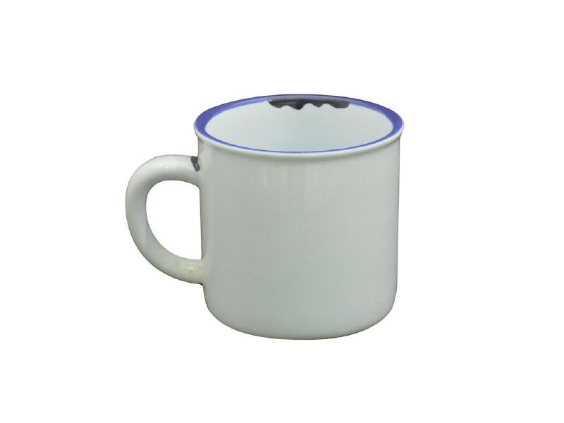 Taza mug 150 ml. cerámica blanca.