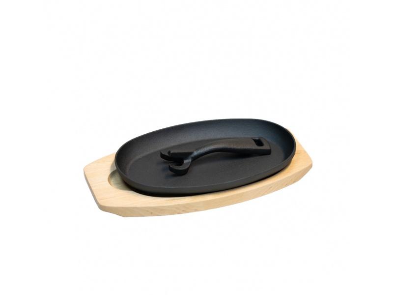 Plancha grill oval  de Hierro