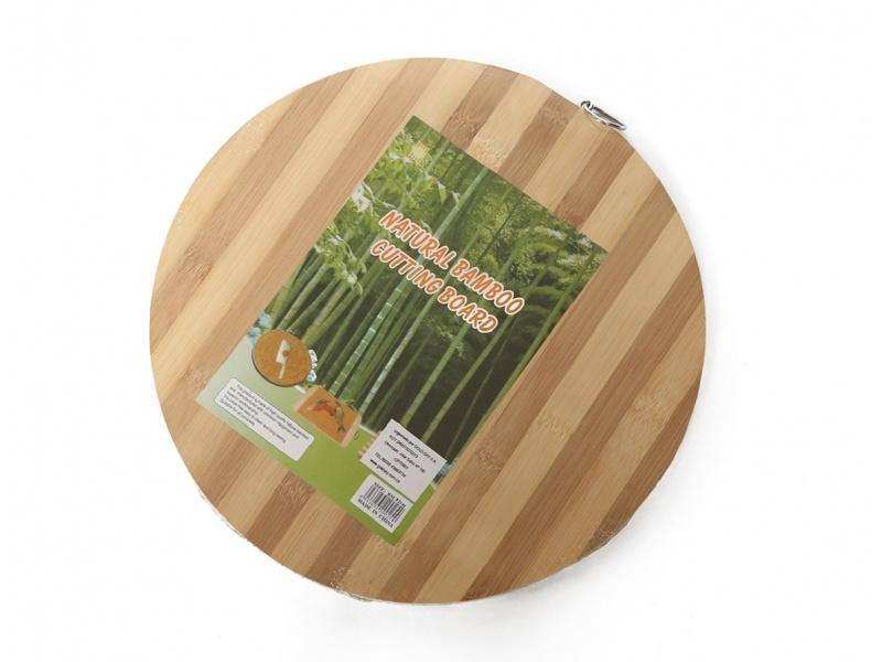 Tabla Redonda Bamboo D32 / H1.8 cm Goldsky
