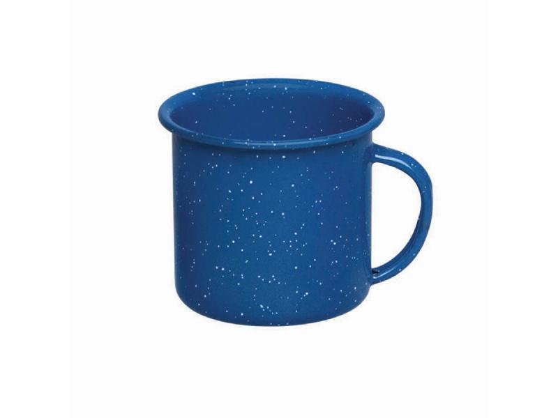 Taza jarro mug  esmaltado azul 360 ml Cinsa
