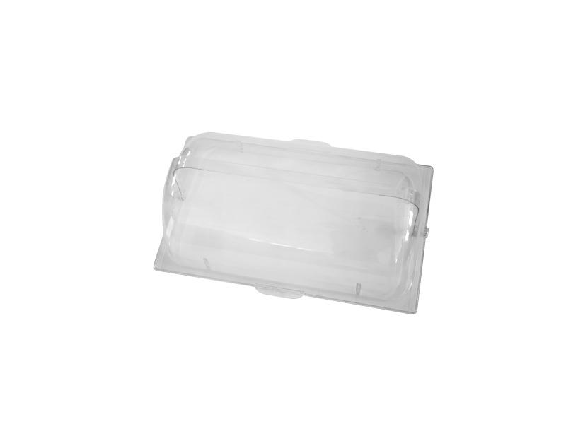 Tapa Campana Roll Top Retractil en PVC Transparente GN 1/1