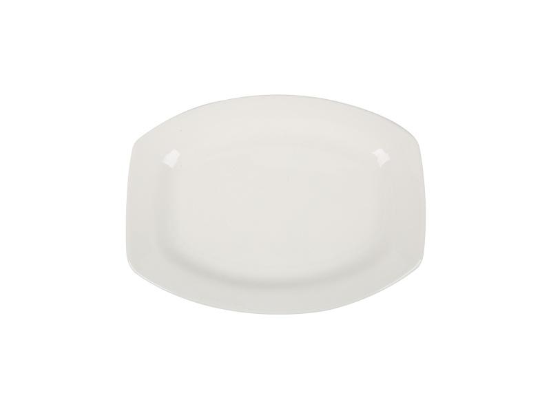 Fuente Plato Ceramica 25 x18 Goldsky