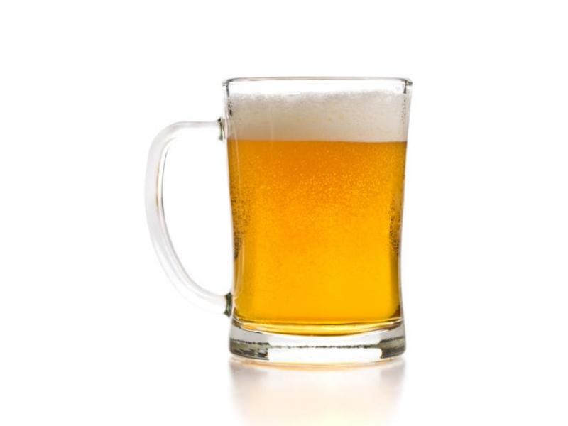 Jarra Vidrio Cerveza 630 ml. Pack 2 piezas Goldsky