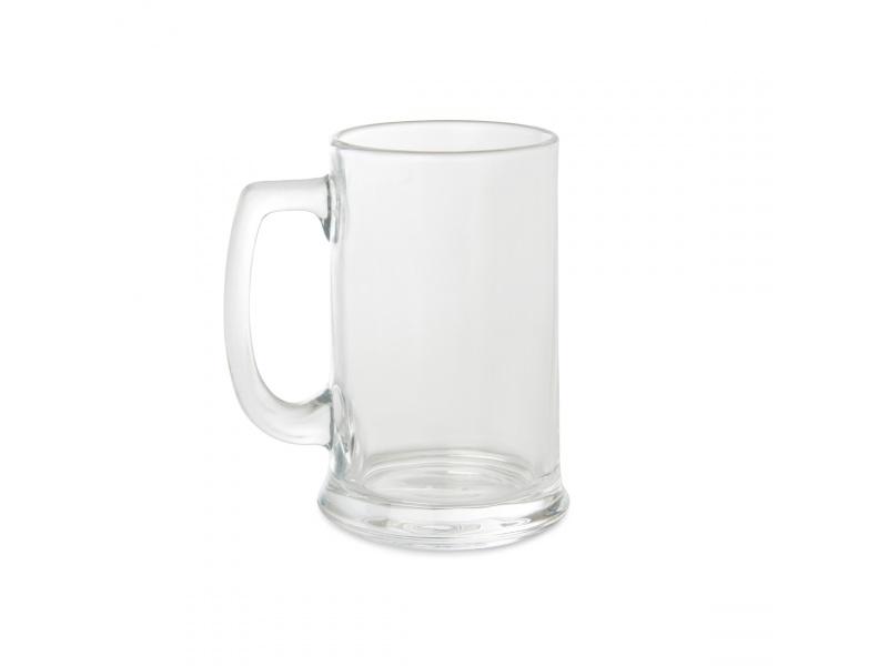 Jarra Cerveza 420 ML Vidrio Set x2 Piezas Goldsky