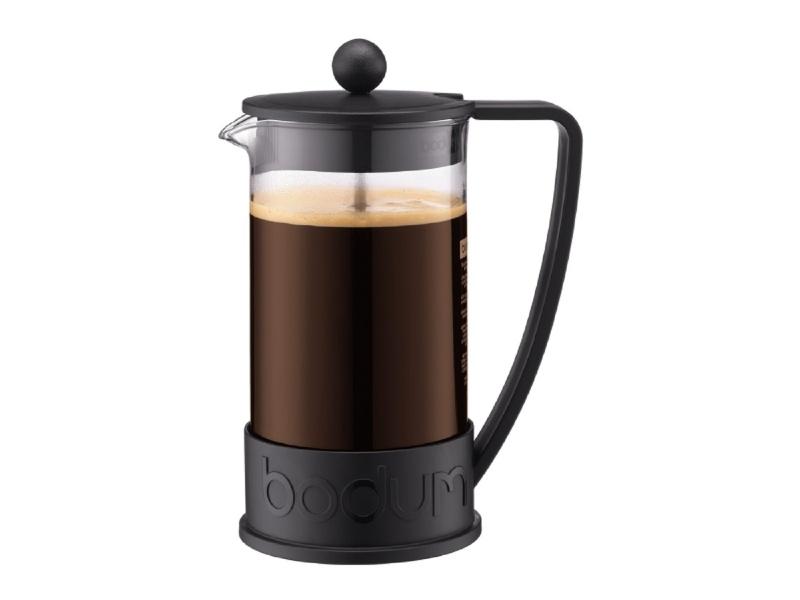Cafetera 1 ltro. 8 Tazas Negro Brazil Bodum