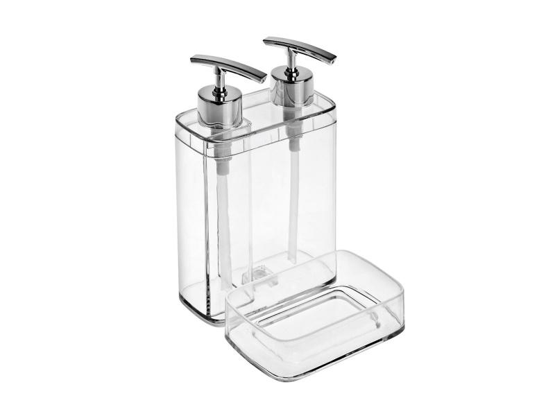 Dispensador de Jabón y Detergente Acrilico transparente