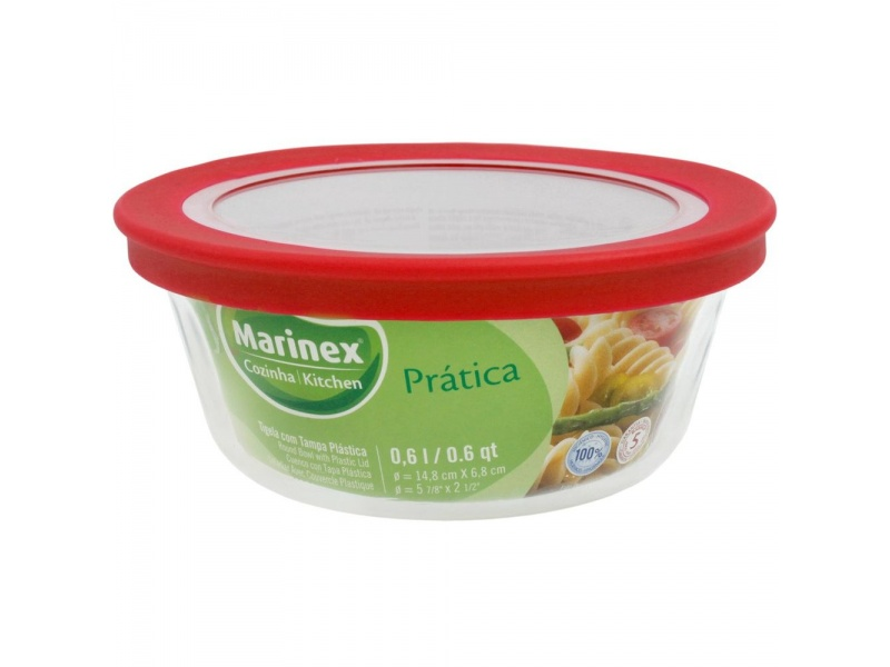Bowls vidrio 600 ml linea Facilita Marinex.