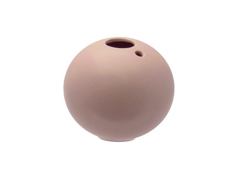 Maceta Esfera Cerámica 11.6X11CM Rosa