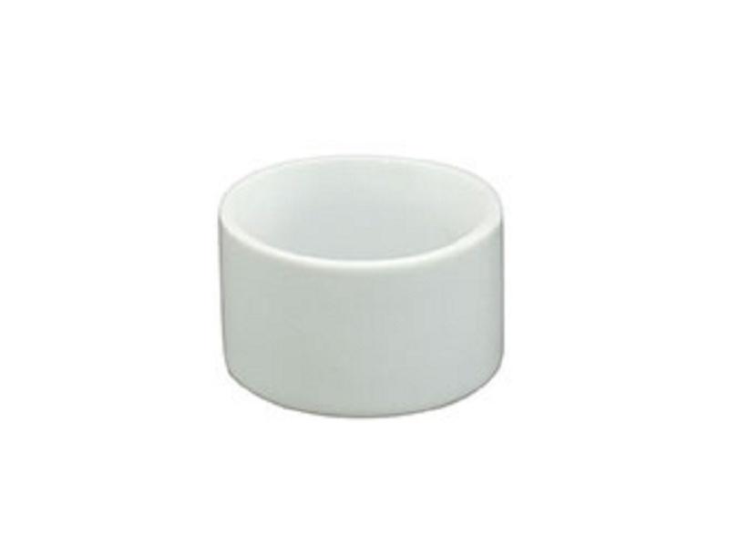Ramequin redondo cerámica blanca Ø 5 x 3 cm.