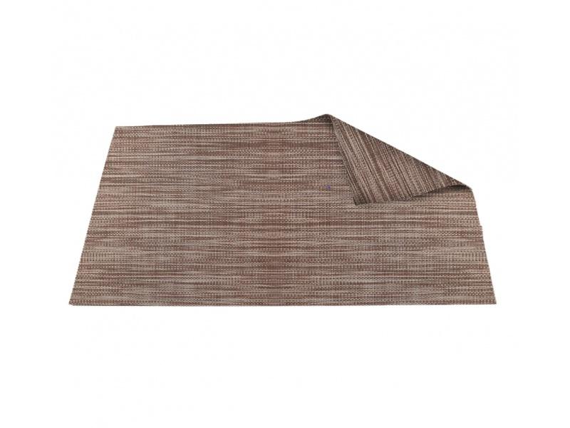 Mantel Individual marrón Pvc 45 x 30 cm