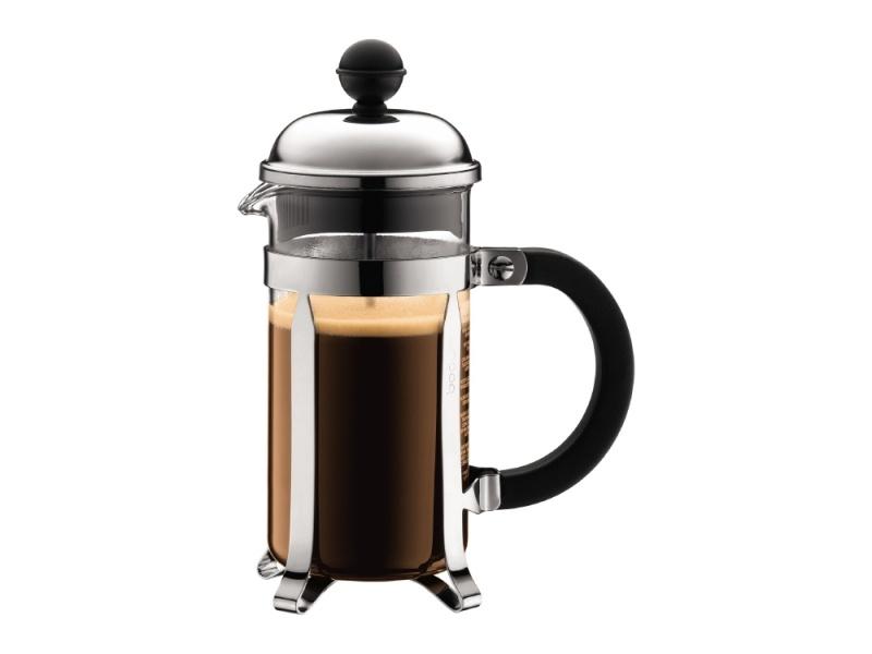 Cafetera 350ml 3 tazas Acero/Negro Chambord Bodum Goldsky