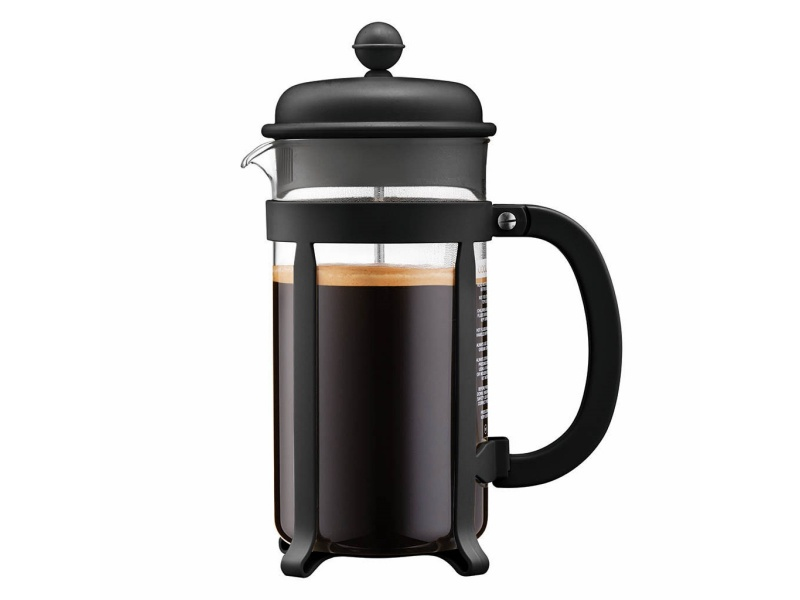 Cafetera 1lt 8Tazas Negro Java Press Bodum Goldsky