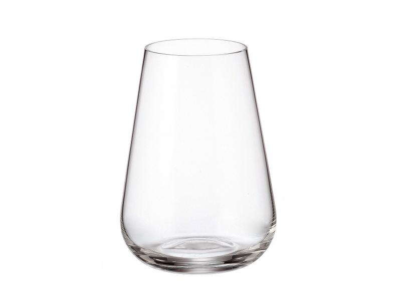 Vaso cristal Ardea Bohemia 300 ml set x 6 unid.