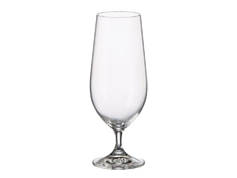 Copa Cerveza Cristal 395ml Set X6 Lara Martina Bohemia