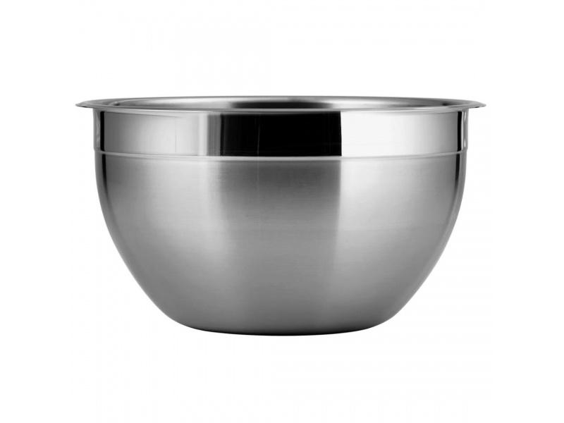 Bowl 26 cm De Acero Inoxidable Corrina
