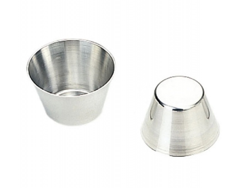 Molde Para Flan 7Cm De Aluminio Garcima