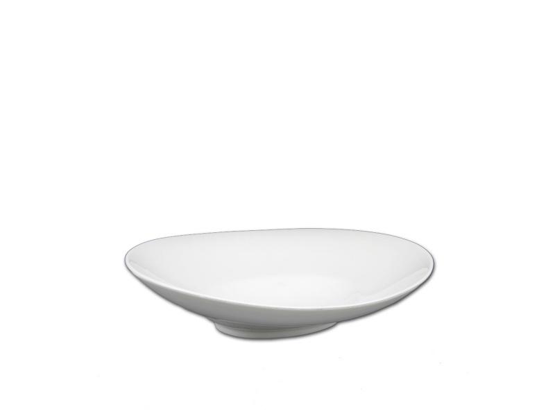 Bowls ensaladera oval 25 x 21.5 cm cerámica Goldsky