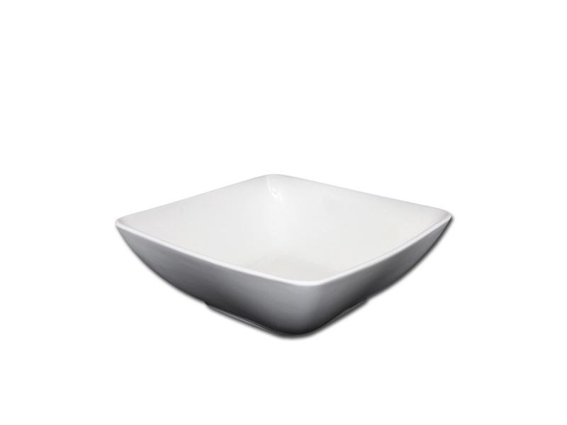 Bowl Ensaladera Cuadrada 22,5 x 9 cm Cerámica Goldsky