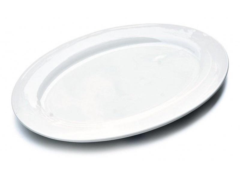 Fuente Oval 45 x 31.5 cm Cerámica Goldsky