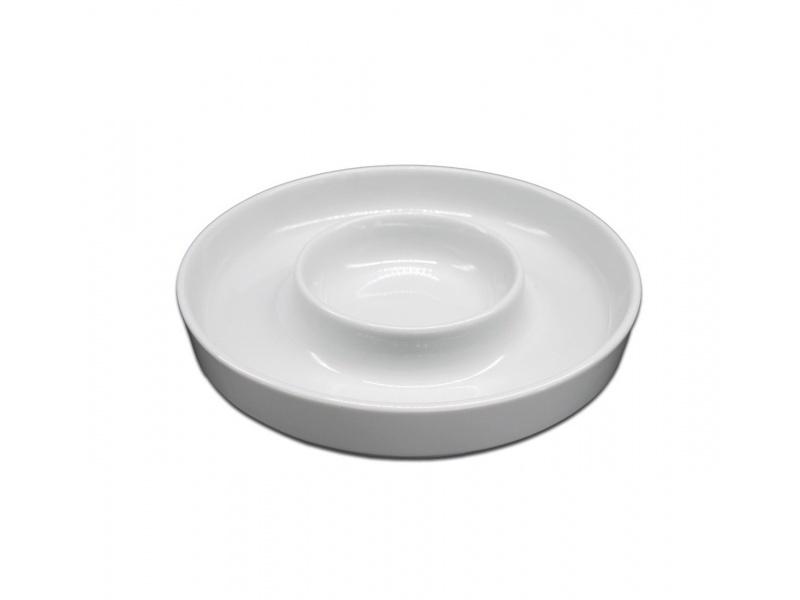 Copetinero cerámica 20 x 3 cm. Goldsky