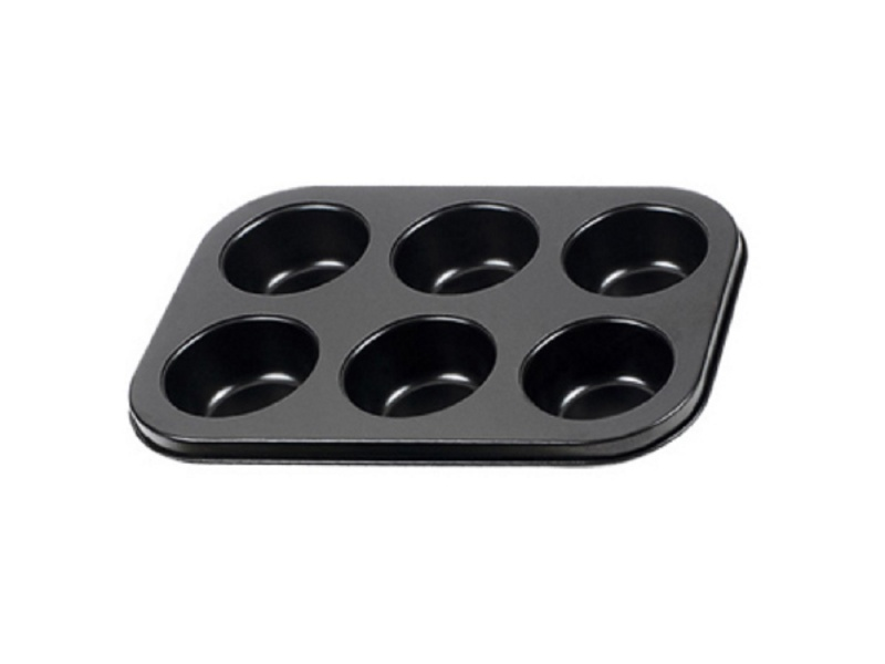 Molde Muffin x6 Antiadherente 26.5x18x3 cm Selecta