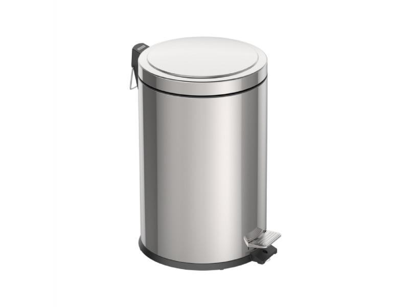 Basurero 20 lt c/balde interno Acero Inoxidable Tramontina