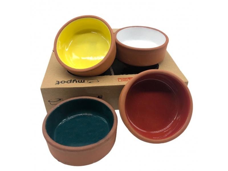 Cazuela Bowl Redondo 7.5 x 3 cm Set x4 Via Pot
