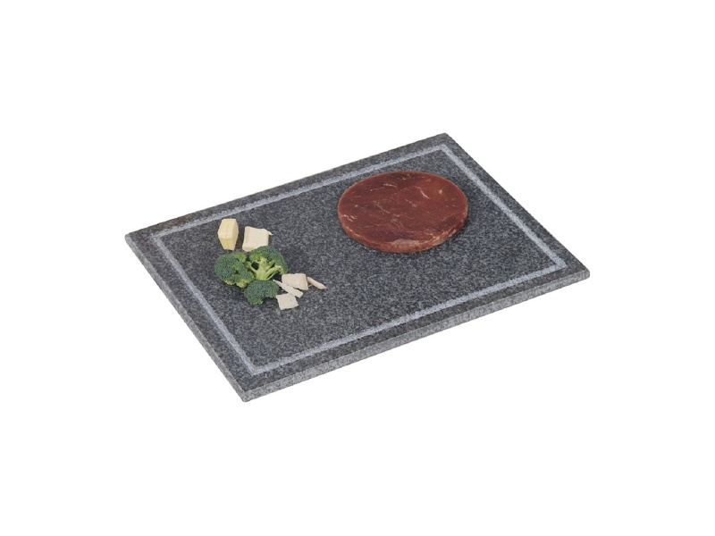 Tabla rectangular de granito 40x30x1,5 cm