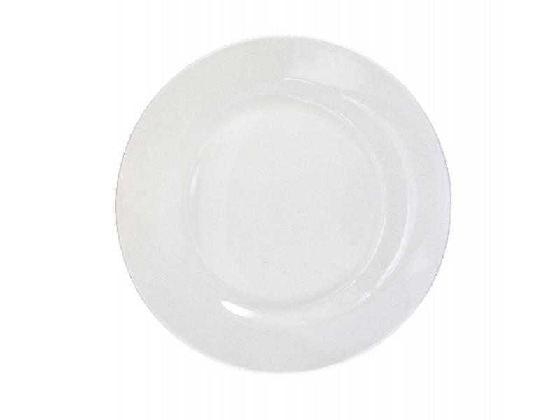 Plato de pan 15 cm Cerámica Blanco Gourmet BG