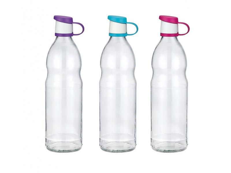 Botella vidrio 1 L Tapa plástico Renga