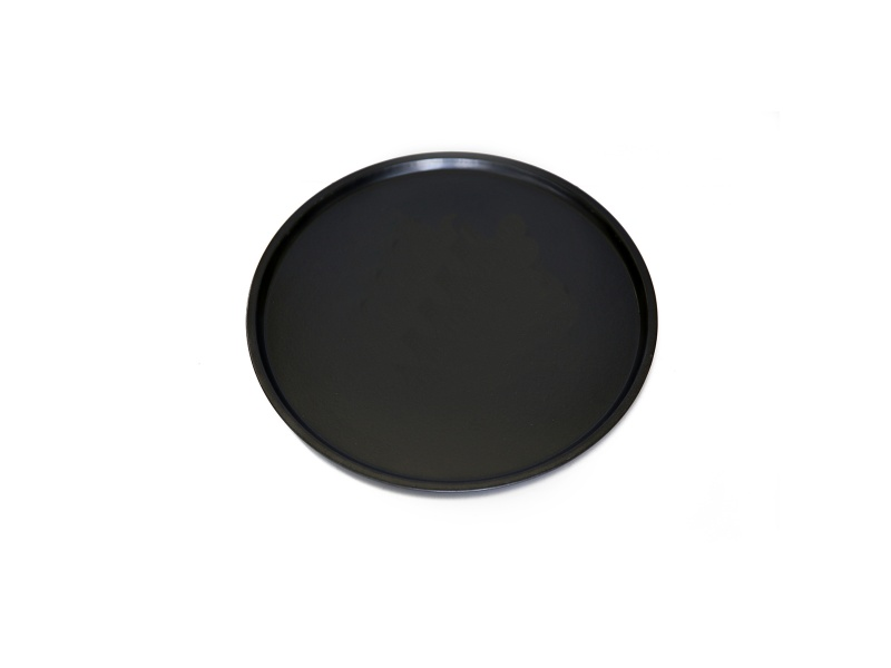 Asadera redonda antiadherente 35.5 x1.5 cm Goldsky