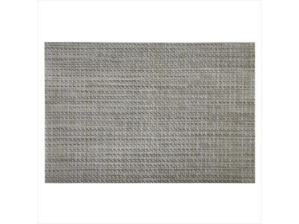 Mantel Individual 30 x 45 cm tonos grises material textil