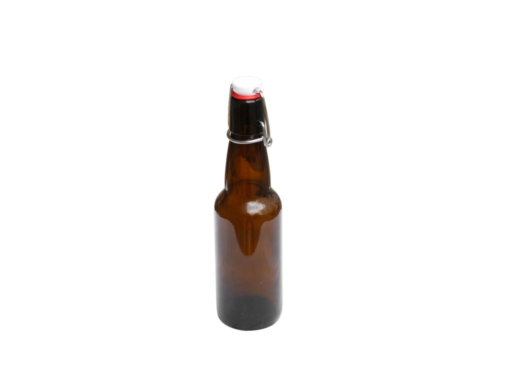 Botella cerveza 330 ml cierre mecánico goldsky