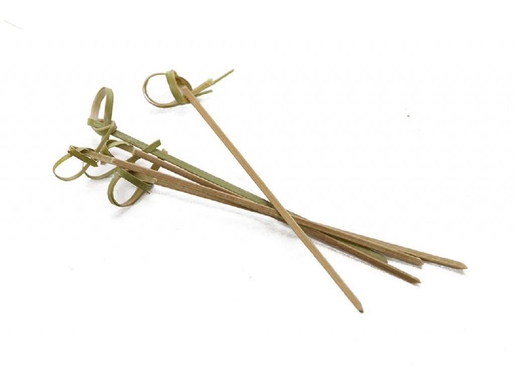 Pinchos bamboo 12 cm 100 unid. Goldsky