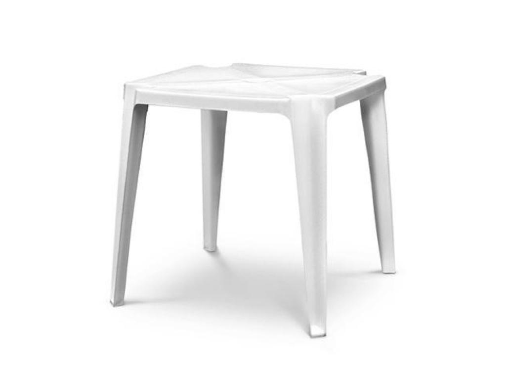 Mesa Quadro 75 x 75 cm. blanca