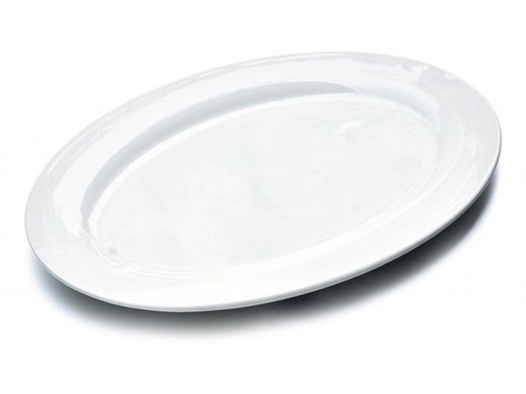 Fuente Oval 39.5 x28 cm Cerámica Goldsky