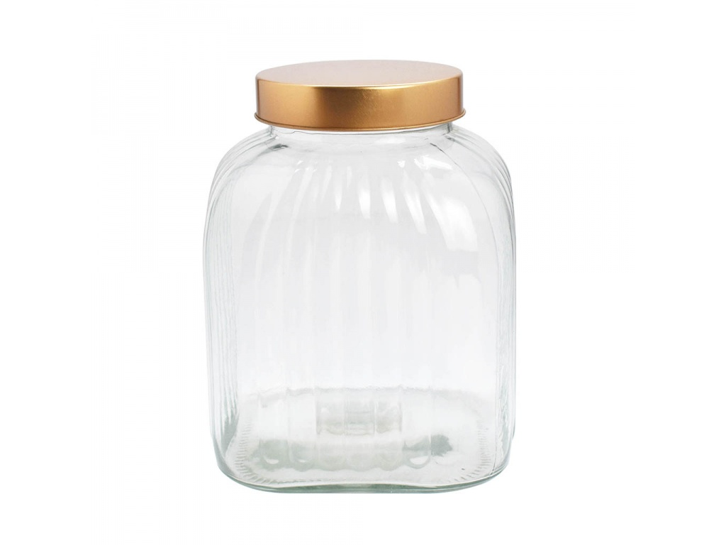 Frasco Recipiente Tapa Cobre  3.4 L